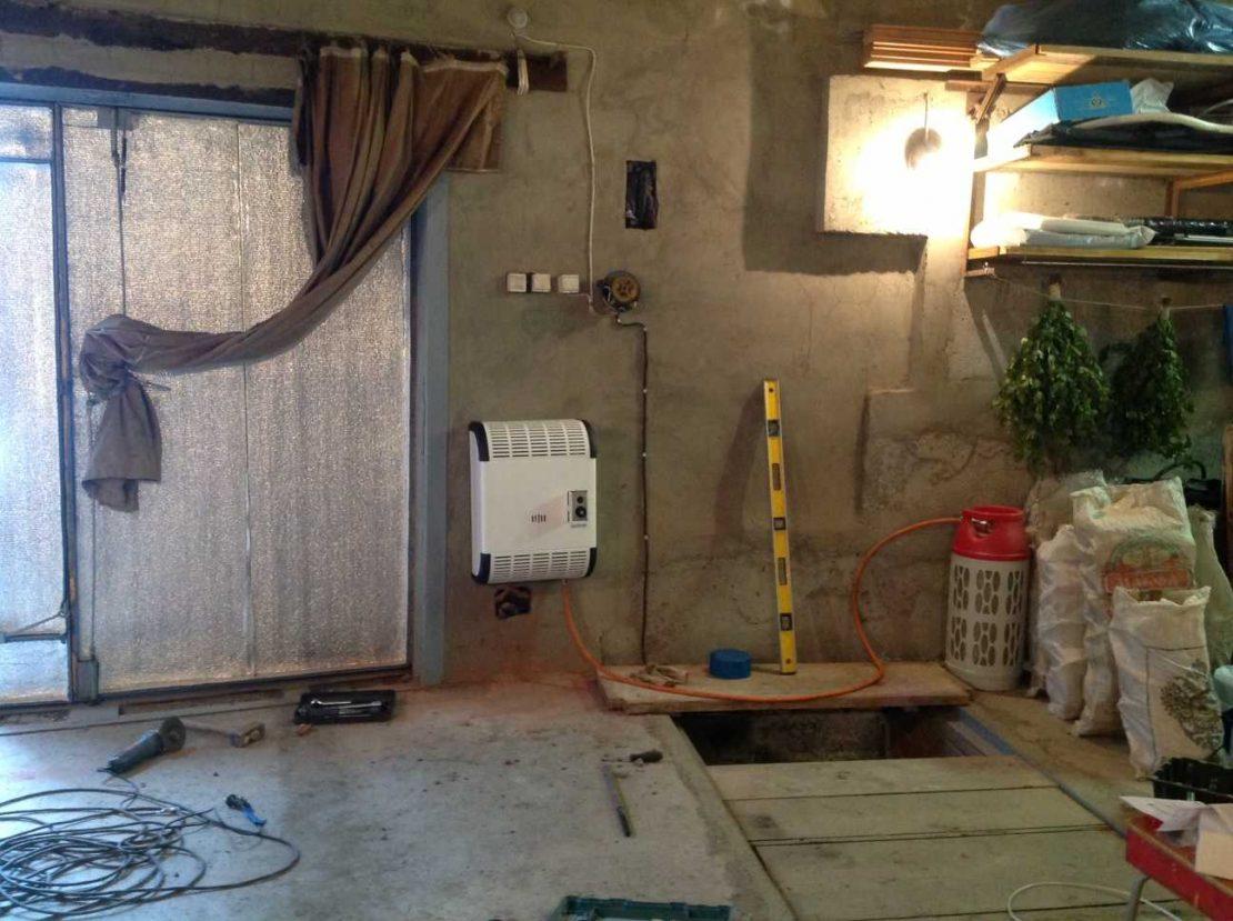 подключение газового конвектора