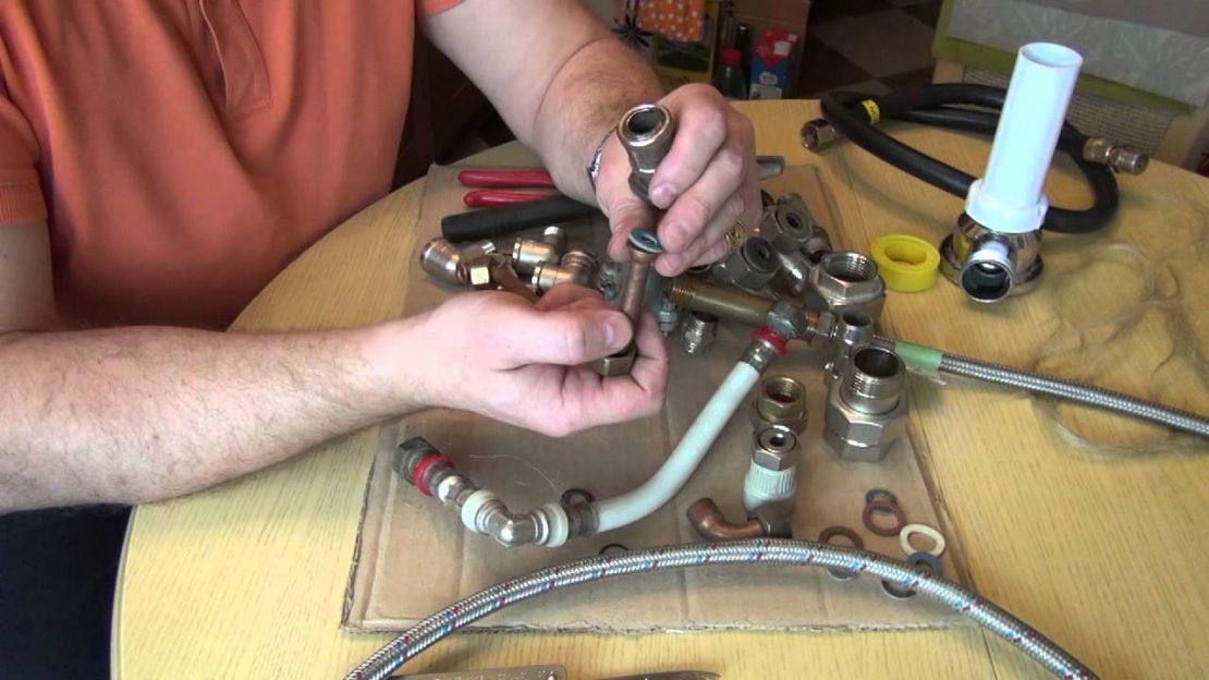 ремонт металлопластиковых труб