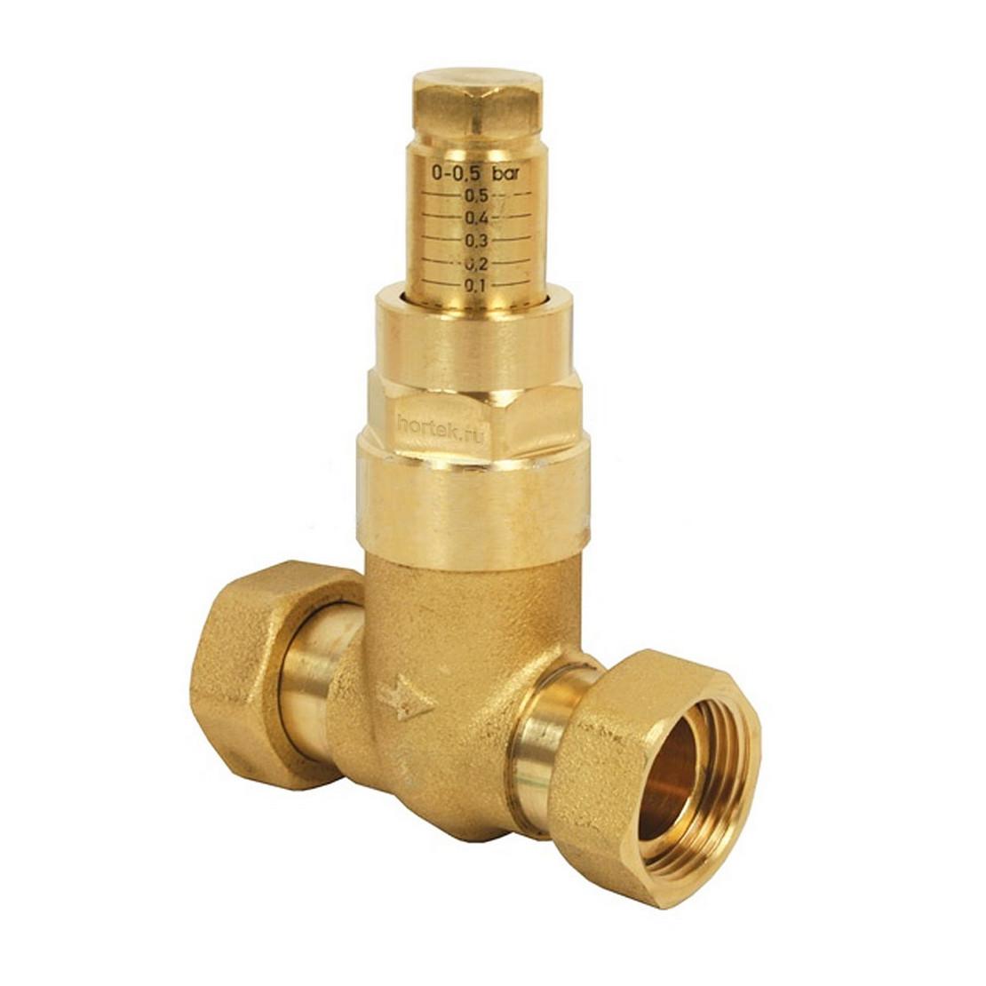 предохранительный клапан системы отопления