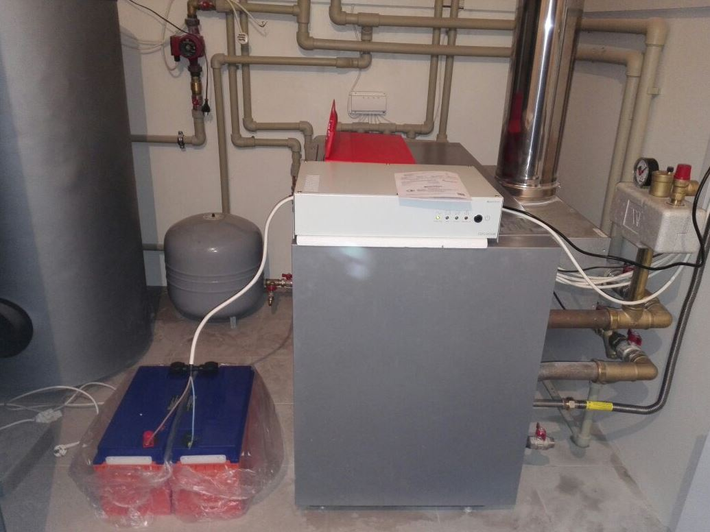 установка и подключение ИБП