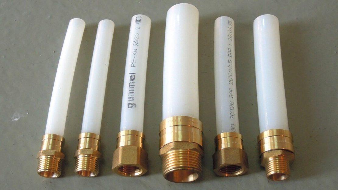 сшитые трубы из полиэтилена