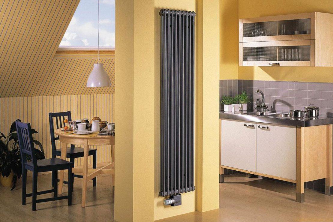 вертикальные радиаторы