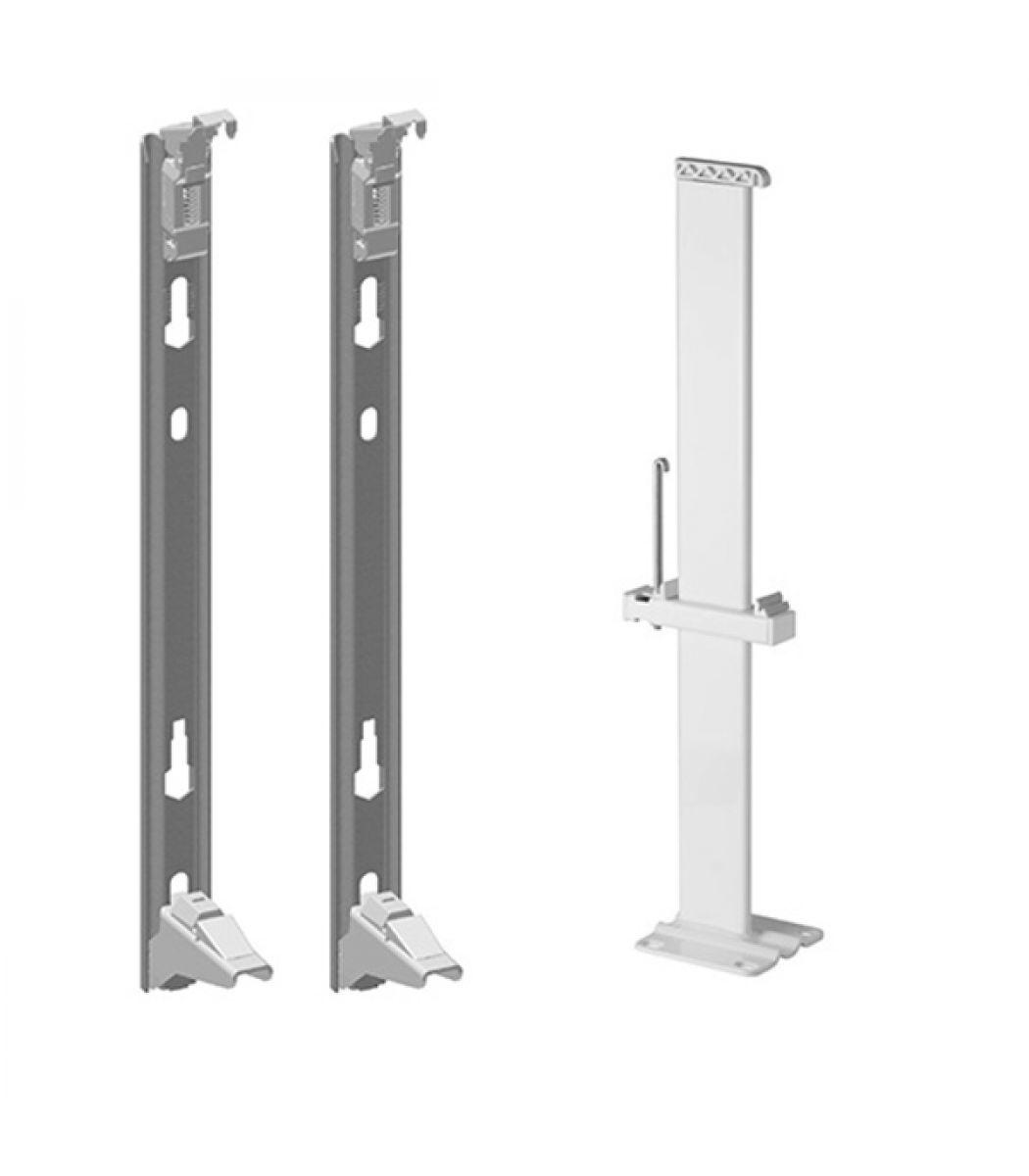 монтажные планки для панельного радиатора