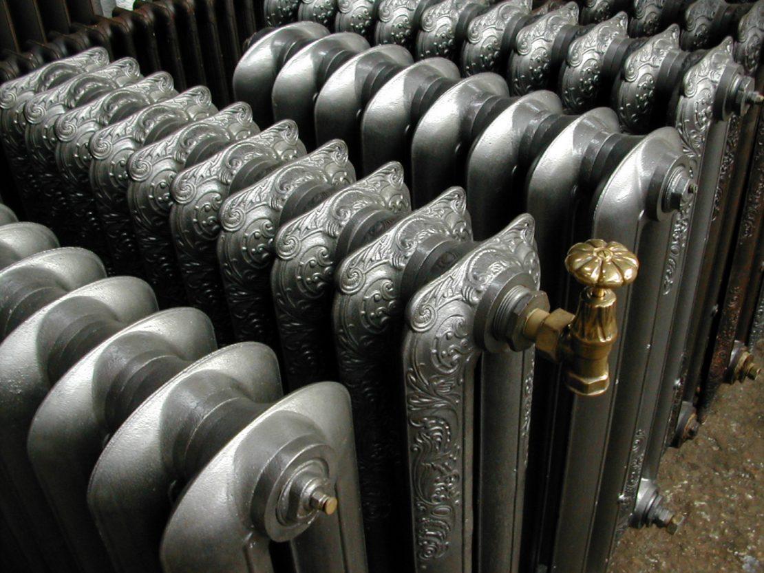 отопительные агрегаты из чугуна