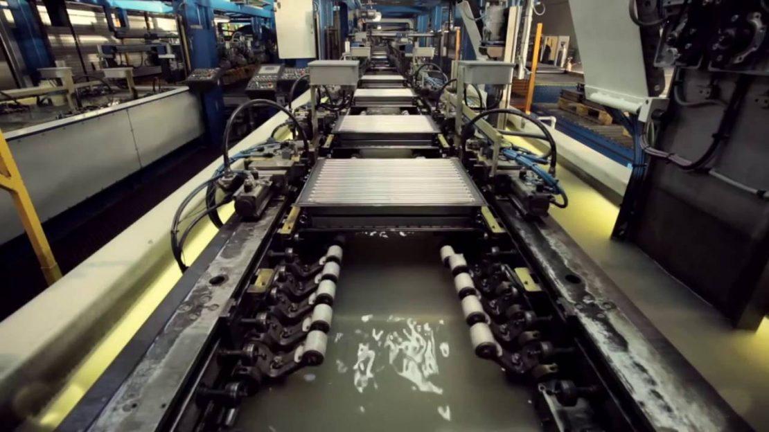 производство плоских радиаторов