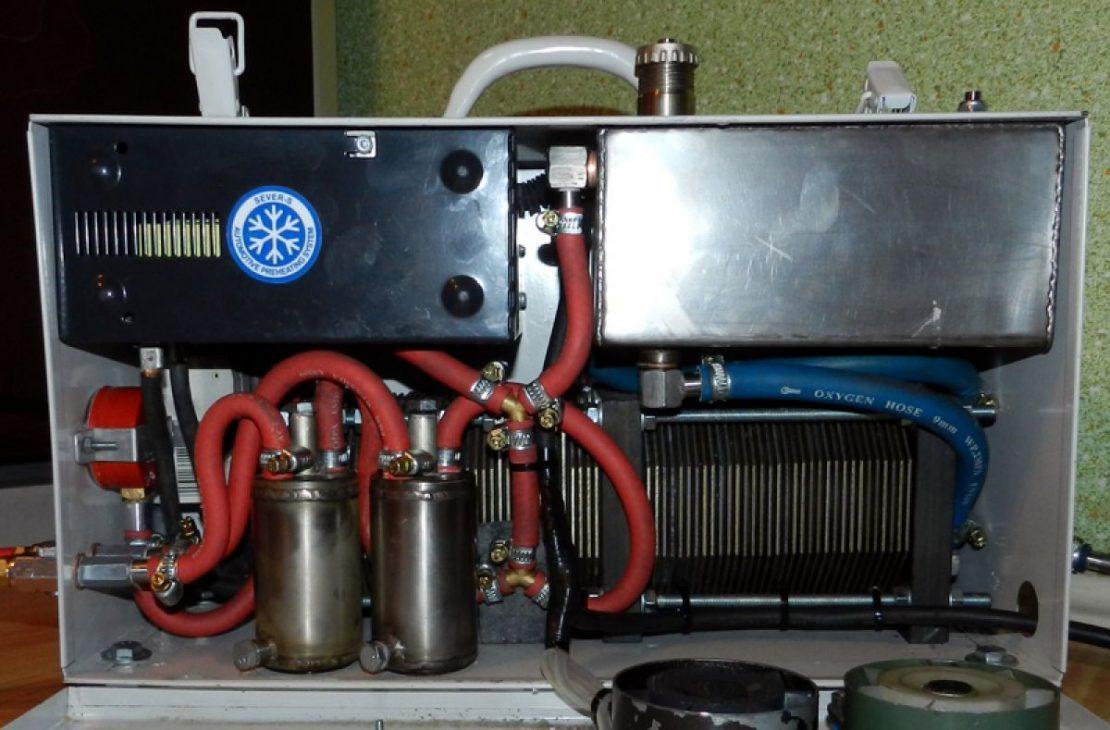 самодельный водородный котел